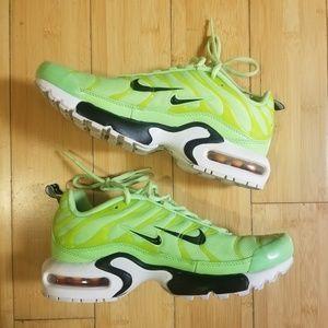 Nike Air Max  Plus SE gs Double Swoosh Lime Blast